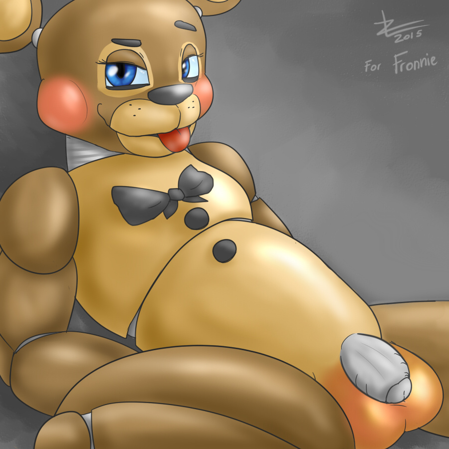 at the freddy's five nights from puppet Sue ellen the ass was fat