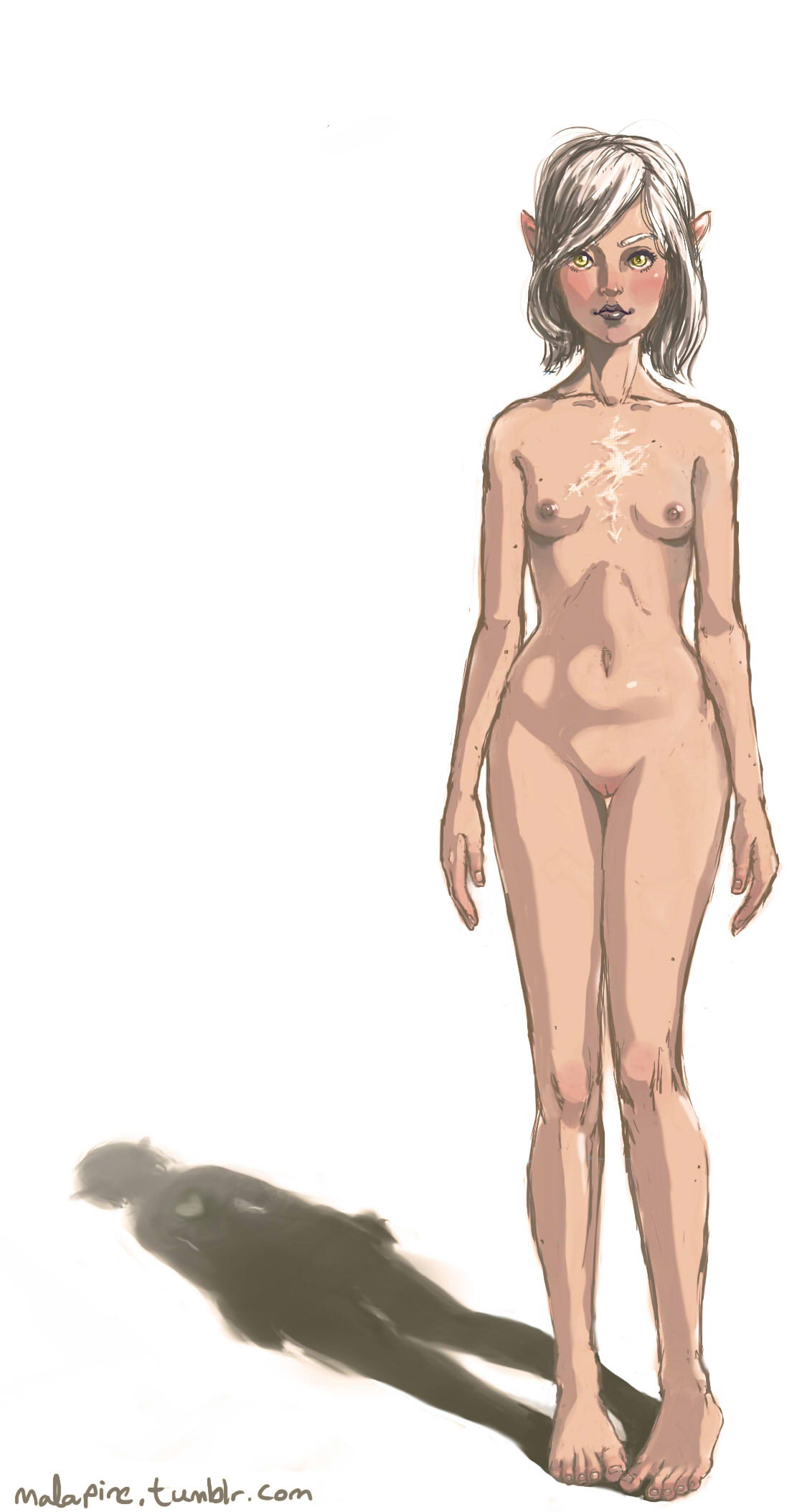 bigger mod breasts dragon's dogma Pennis and also dicke balls