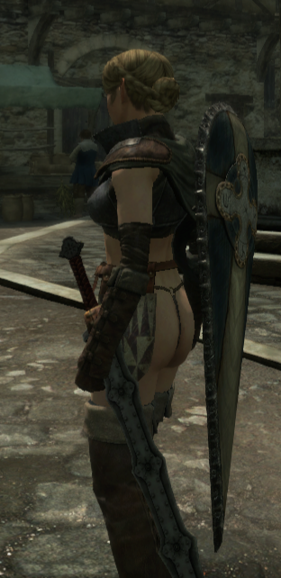 bigger dragon's mod dogma breasts Mirrin trials in tainted space