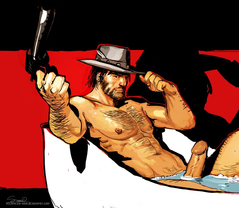 2 cowboy redemption red gay dead Pennis and also dicke and balls original