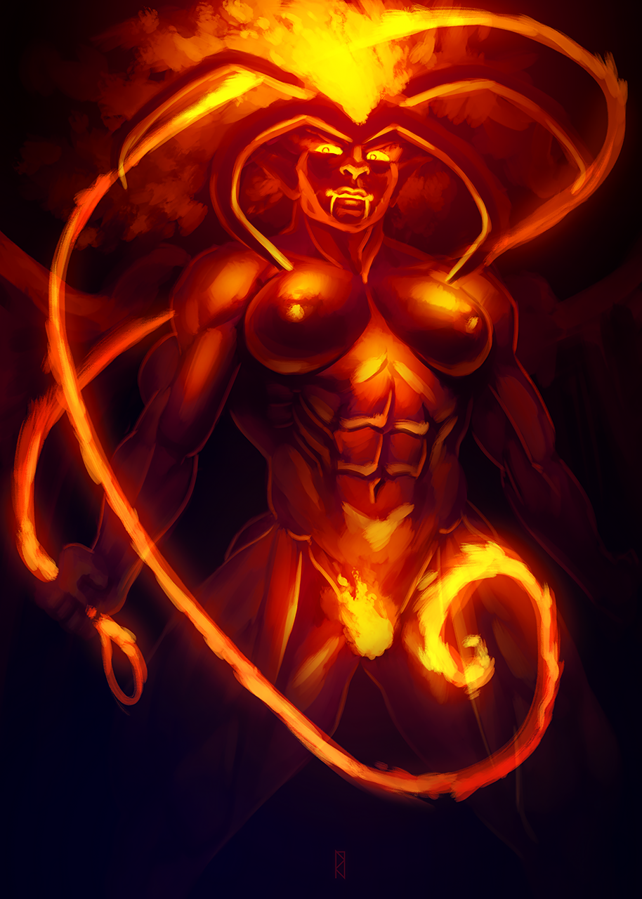 demon lord for fairytale the Lilo and stitch