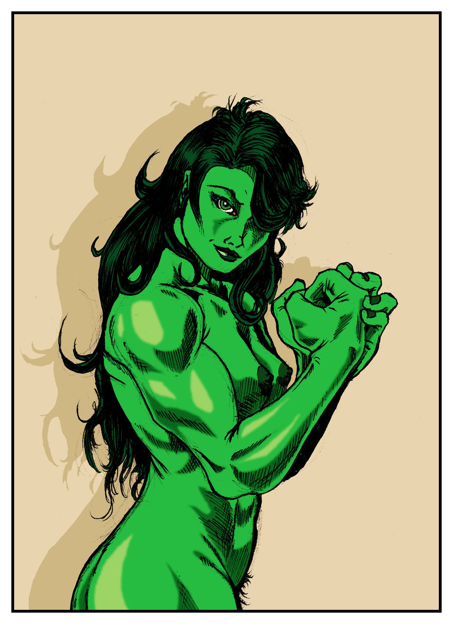 comic porn she-hulk Jessie from toy story naked