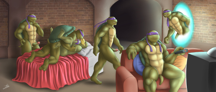picture donatello ninja of turtle Beauty and the beast genderbend