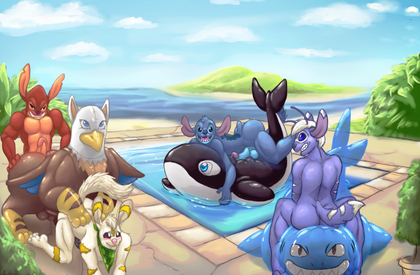 from lilo and alien pink stitch Rage of the dragons sonia