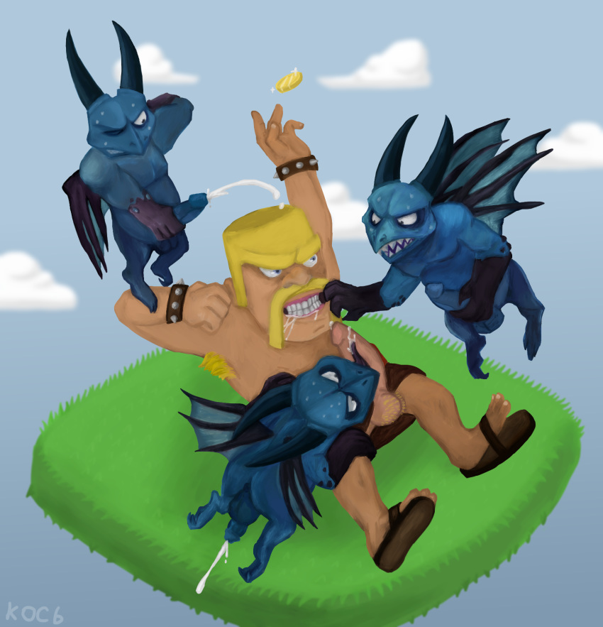 clash of naked clans archer Star vs the forces of evil