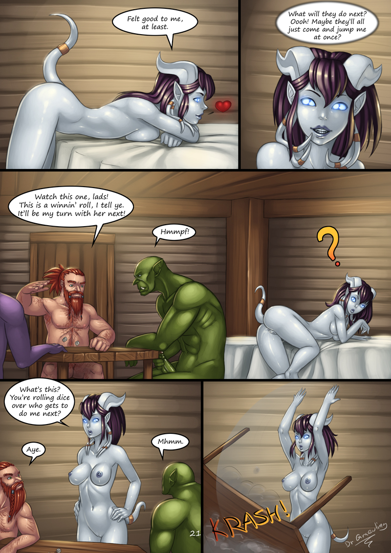 draenei do have accent what How to cum in chastity