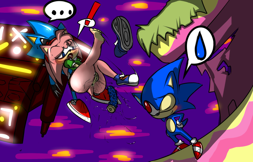having amy and it in bed sonic In a different world with a smartphone characters